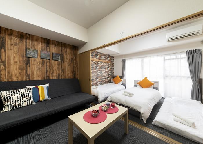 Grande Famille 島之內道頓堀公寓式飯店